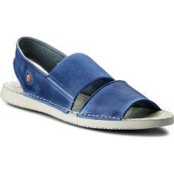 Rzymianki damskie: Sandały SOFTINOS – Taisof P900383013 Lavender Blue