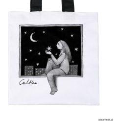 Okno - torba premium (kolory). Białe shopper bag damskie Pakamera, z materiału. Za 79,00 zł.