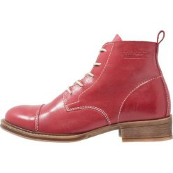 Botki damskie: Ten Points Ankle boot red