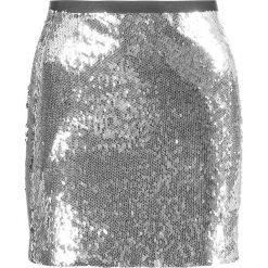 Spódniczki: Topshop Spódnica mini silver