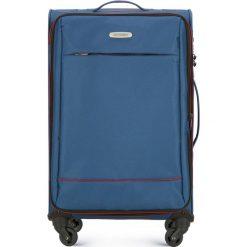 Walizka średnia 56-3S-462-90. Niebieskie walizki marki Wittchen, średnie. Za 259,00 zł.