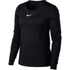 Koszulka termoaktywna damska NIKE PRO WARM TOP / AQ2572-010. Czarne bluzki z odkrytymi ramionami Nike, z elastanu, sportowe. Za 179,00 zł.