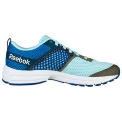Buty sportowe w kolorze niebieskim. Brązowe buty sportowe męskie marki Reebok, z materiału. W wyprzedaży za 229,95 zł.