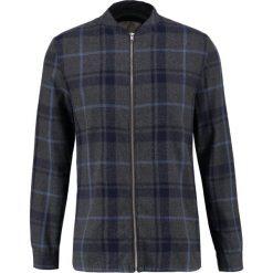 Koszule męskie na spinki: RVLT CHECK Koszula grey