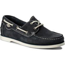 Mokasyny CAMEL ACTIVE - Tropical 879.70.01 Jeans. Niebieskie mokasyny damskie marki Camel Active, z jeansu. W wyprzedaży za 299,00 zł.