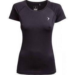 Koszulka treningowa damska TSDF602 - czarny - Outhorn. Czarne bluzki z odkrytymi ramionami Outhorn, z materiału. W wyprzedaży za 39,99 zł.
