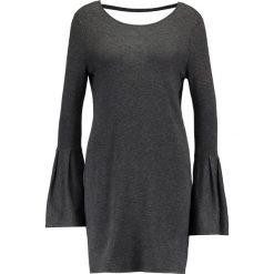 Sukienki: Vero Moda VMBIGGS GLORY BELL Sukienka dzianinowa dark grey melange