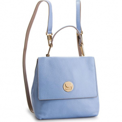 Plecak COCCINELLE - DD0 Liya E1 DD0 54 10 01 Cosmic Li/Taupe 801. Niebieskie plecaki damskie marki Coccinelle, ze skóry, eleganckie. Za 1499,90 zł.
