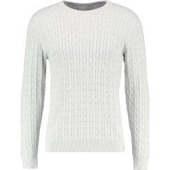 Swetry klasyczne męskie: Selected Homme SHHCLAYTON CREW NECK Sweter light grey