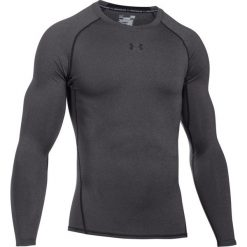 T-shirty męskie: Koszulka Under Armour Heatgear Armour Compression Longsleeve (1257471-090)