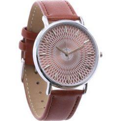 Brązowy Zegarek Commonplace. Brązowe zegarki damskie Born2be. Za 24,99 zł.
