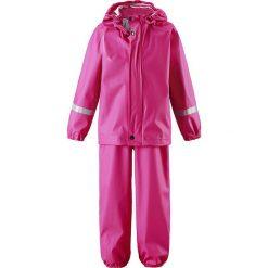 """Spodnie niemowlęce: 2-częściowy zestaw przeciwdeszczowy """"Tihku"""" w kolorze różowym"""