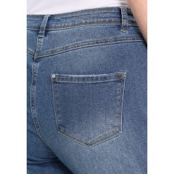 Boyfriendy damskie: Evans MEMO STAR  Jeansy Straight Leg denim