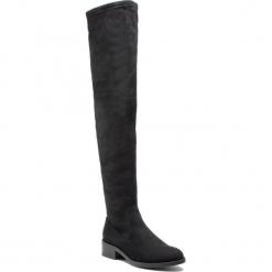 Muszkieterki ALDO - Araecia 56856529 98. Czarne buty zimowe damskie ALDO, z materiału, na obcasie. W wyprzedaży za 329,00 zł.