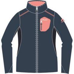 ELBRUS Bluza damska  Mankana Wo's Midnight Navy/ Fluo Peach r.  S. Niebieskie bluzy sportowe damskie marki ELBRUS, s. Za 149,78 zł.