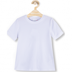 Koszulka. Białe t-shirty chłopięce z długim rękawem GYMNASTIC, z bawełny. Za 29,90 zł.