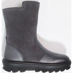 Superfit FLAVIA Śniegowce stone. Szare buty zimowe damskie marki Superfit, z materiału. W wyprzedaży za 152,55 zł.