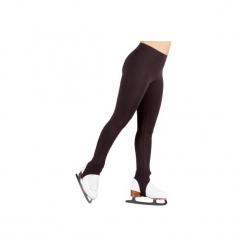 Spodnie Do Jazdy Figurowej Dla Dorosłych Czarne. Czarne bryczesy damskie marki DOMYOS, l, z elastanu, na fitness i siłownię. Za 59,99 zł.