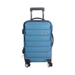 Walizka 4ZIX 237 niebieska. Szare walizki marki Brugi, m. Za 210,16 zł.