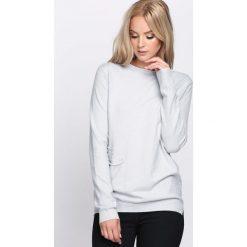 Jasnoszary Sweter Count On Me. Szare swetry klasyczne damskie Born2be, na jesień, l. Za 59,99 zł.