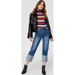 EVIDNT Jeansy boyfriend Ghent - Blue. Niebieskie jeansy damskie EVIDNT, z denimu. W wyprzedaży za 202,48 zł.