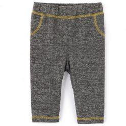 Spodnie typu jogpant. Szare spodnie dresowe dziewczęce La Redoute Collections, z dresówki. Za 41,96 zł.