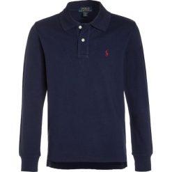 Polo Ralph Lauren CUSTOM FIT Koszulka polo newport navy. Niebieskie t-shirty chłopięce Polo Ralph Lauren, z bawełny. W wyprzedaży za 183,20 zł.