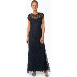 Niente - Damska sukienka wieczorowa, niebieski. Niebieskie długie sukienki Niente, m, wizytowe, z długim rękawem. Za 749,95 zł.