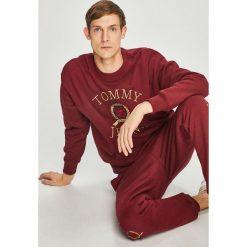 Tommy Jeans - Bluza. Brązowe bluzy męskie rozpinane marki Tommy Jeans, l, z aplikacjami, z bawełny, bez kaptura. Za 579,90 zł.