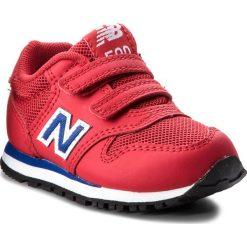Trampki chłopięce: Sneakersy NEW BALANCE – KV500YEI  Czerwony