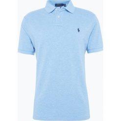 Polo Ralph Lauren - T-shirt męski, niebieski. Niebieskie koszulki polo Polo Ralph Lauren, m, z bawełny. Za 449,95 zł.