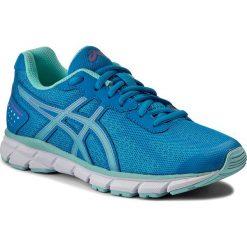 Buty ASICS - Gel-Impression 9 T6F6N Diva Blue/Aqua Splash/Pink Glow 4367. Niebieskie buty do biegania damskie marki Asics, z materiału. W wyprzedaży za 209,00 zł.