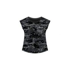 Hi-tec Koszulka Sportowa Damska Niko Black Pattern r. XL. Czarne bluzki sportowe damskie Hi-tec, xl. Za 69,99 zł.