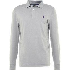 Polo Ralph Lauren Golf LONG SLEEVE KNIT Koszulka sportowa steel heather. Szare koszulki do golfa męskie Polo Ralph Lauren Golf, m, z elastanu, z długim rękawem. Za 479,00 zł.