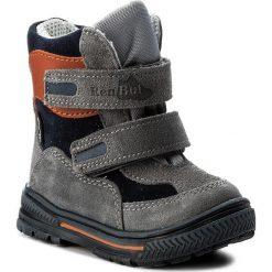 Buty zimowe chłopięce: Śniegowce RENBUT – 12-1463 Popiel