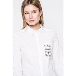 Tally Weijl - Koszula. Czerwone koszule damskie marki TALLY WEIJL, l, z dzianiny, z krótkim rękawem. W wyprzedaży za 59,90 zł.