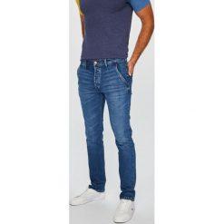 Wrangler - Jeansy Spencer. Niebieskie jeansy męskie slim Wrangler, z bawełny. Za 349,90 zł.
