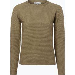 Swetry damskie: Marie Lund – Sweter damski, zielony
