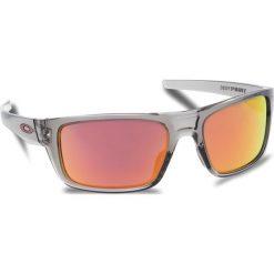 Okulary przeciwsłoneczne OAKLEY - Drop Point OO9367-0360 Grey Ink/Ruby Iridium. Szare okulary przeciwsłoneczne męskie aviatory Oakley, z tworzywa sztucznego. W wyprzedaży za 479,00 zł.