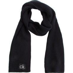 Szal CALVIN KLEIN - Basic Rib Scarf K50K504089 001. Czarne szaliki męskie Calvin Klein, z bawełny. Za 279,00 zł.