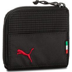 Portfele męskie: Duży Portfel Męski PUMA – Sf Fanwear Wallet 075161 02 Puma Black
