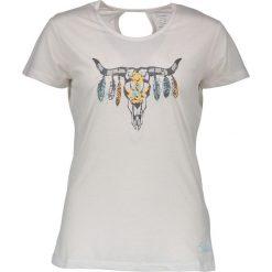 """Bluzki sportowe damskie: Koszulka """"Native"""" w kolorze białym"""