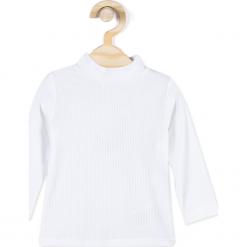 Koszulka. Szare bluzki dziewczęce z nadrukiem marki HORSES, z elastanu, z golfem. Za 24,90 zł.