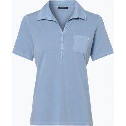 Marc O'Polo - T-shirt damski, niebieski. Niebieskie t-shirty damskie Marc O'Polo, m, polo. Za 269,95 zł.