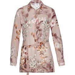 Bluzki damskie: Bluzka z nadrukiem bonprix jasny lila z nadrukiem
