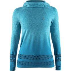 Craft Bluza Damska Core Fuseknit Hood Blue M. Niebieskie bluzy rozpinane damskie Craft, m. Za 225,00 zł.