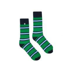 Skarpetki w zielone paski. Zielone paski damskie 4lck, w paski. Za 29,00 zł.