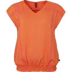 """T-shirty damskie: Koszulka """"Lovis"""" w kolorze pomarańczowym"""