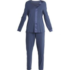 Hanro ELARA Piżama horizon blue. Niebieskie piżamy damskie Hanro, xl, z bawełny. Za 669,00 zł.