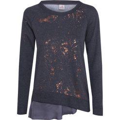 Bluzy rozpinane damskie: Bluza DEHA EXPRESSION Print|Szary